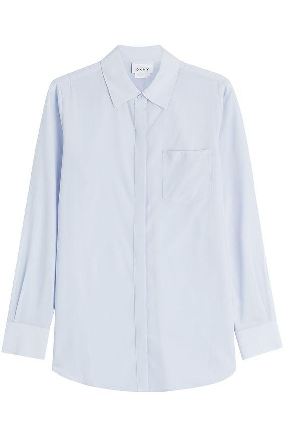 DKNY Silk Blouse. #dkny #cloth #blouses