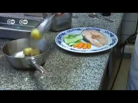 """""""Lachs mit Sandefjord Butter"""" - eine Spezialität aus Norwegen."""