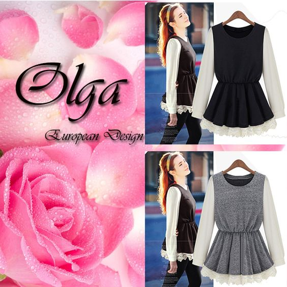Olga Dress  Size S, M, L, XL Quality Cotton and Lace