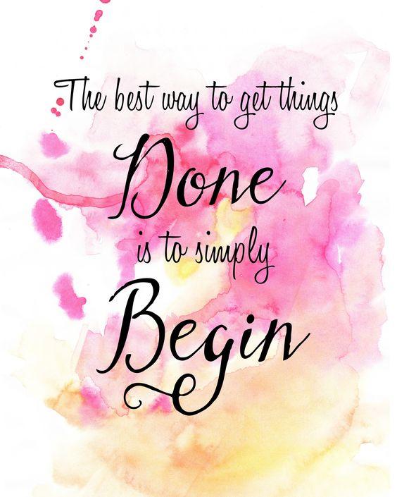 Begin: