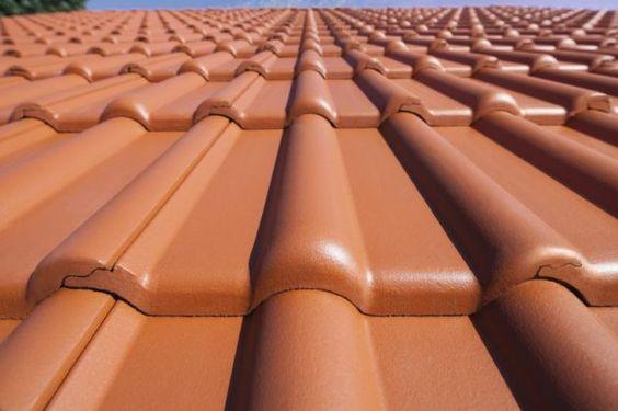 Dachgestaltung * rote Dachziegel * Dachpfannen * Ideen zum Dachbau * Braas