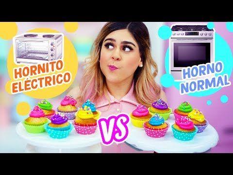 Cupcakes En Hornito Eléctrico Vs Horno Normal Mis Pastelitos Youtube Recetas En Horno Electrico Horno Electrico Receta Para Hacer Cupcakes