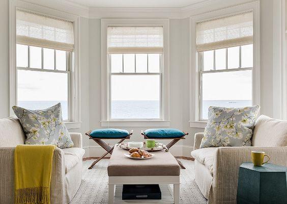 Bay windows bays and window on pinterest - Bay window ideas living room ...