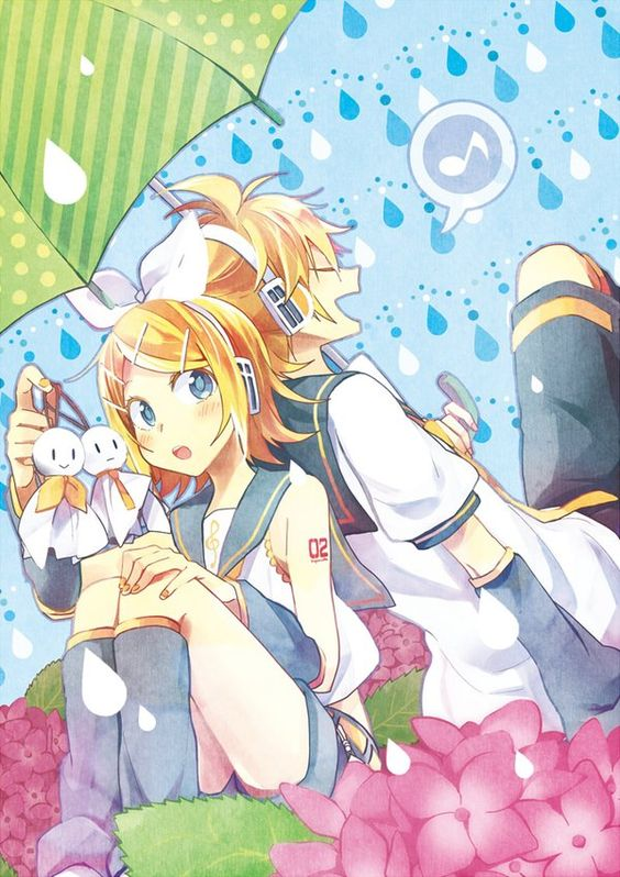 Rin and Len *-*