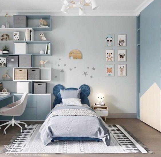 3d Model Interior Children Room 3 Free Download By Huyhieulee Kids Interior Room Kids Room Interior Design Modern Kids Bedroom