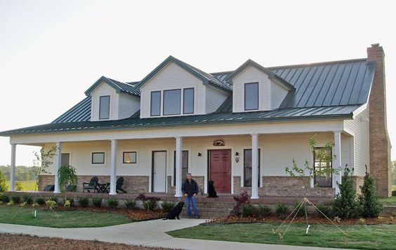 Crestwood model from Kodiak Steel Homes. #architecture # steel #greenbuilding
