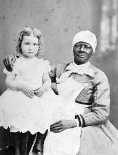 Unidentified Black Nursemaid With Child Photographer
