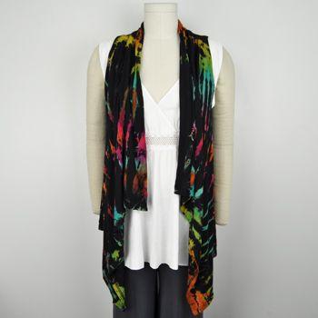 Flowing Mudmee Tie Dye Vest