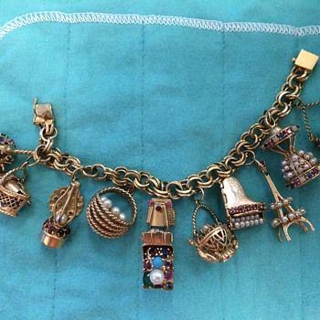 vintage charm bracelets - Google Search:
