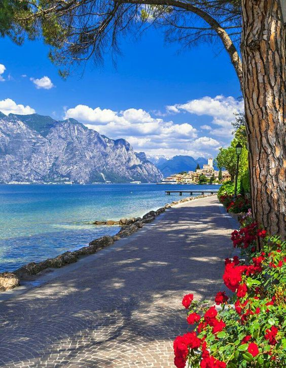Malcesine, Lake Garda Italy                                                                                                                                                     More: