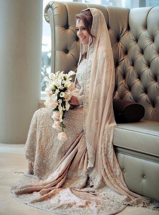 Muslim Girls Wedding Dresses with Sleeves and Hijab (100+ Photos)