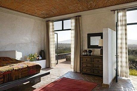 A Mexican Hacienda | HomeAdore | Bedroom