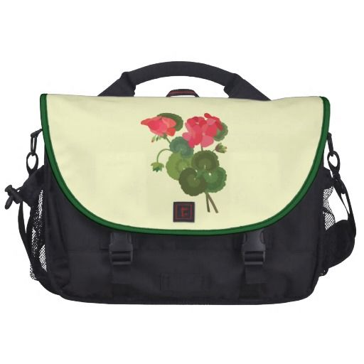 Geranium Stems Commuter Bag | Laptop bag for women, Bags