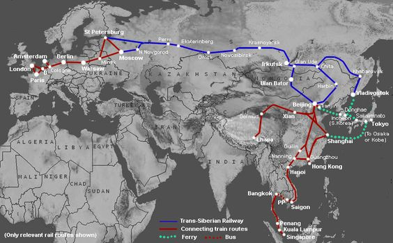 How to plan & book a journey on the Trans-Siberian Railway