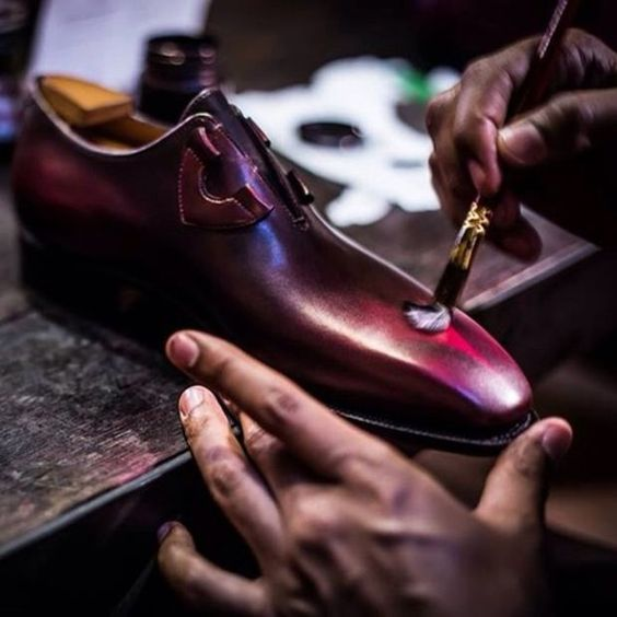 Handmade luxury mens dress shoes #menstyle... | PAUL PARKMAN ® The Art of Handmade Shoes For Men