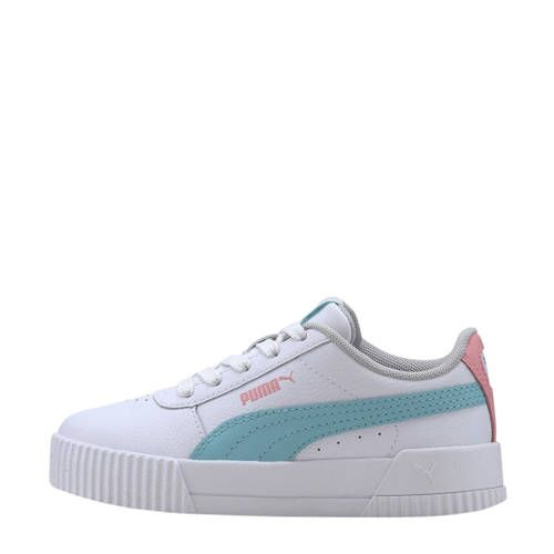 Puma Carina L PS sneakers wit/blauw/roze - Roze blauw, Blauw ...