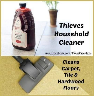 Young Living Thieves Household Cleaner: Cleaning
