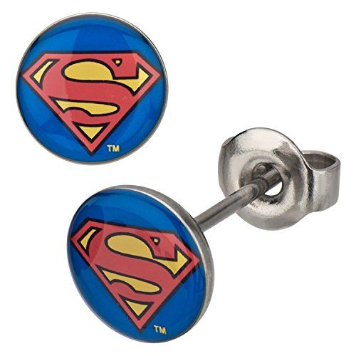 Stainless Steel Post with 8mm Superman Logo Stud Earrings Sales One http://www.amazon.com/dp/B00E3CUJY8/ref=cm_sw_r_pi_dp_i4pOwb1M3GPKM