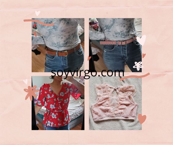 depop clothes for sale at soyvirgo.com - used and new items juicy couture belt pink bralette