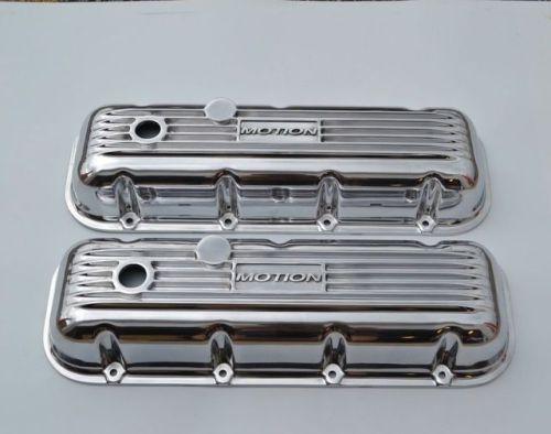 Chevrolet Valve Covers Bbc 396 454 Aluminum Polished Baldwin Valve Cover Car Parts Chevrolet