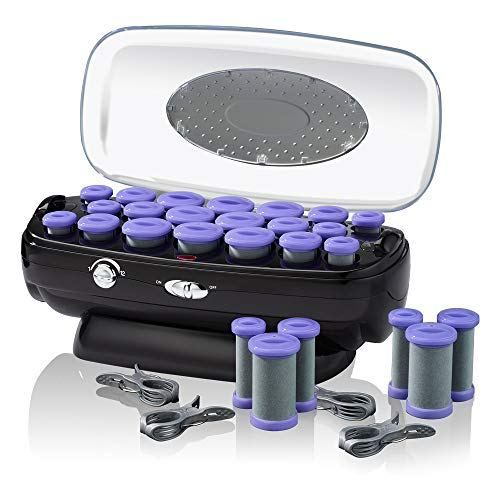 Infinitipro By Conair Instant Heat Ceramic Flocked Rollers W Ionic Generator Retractable Cord Reel 20 Count Boughtagain In 2020 Hair Rollers Hot Rollers Hot Rollers Hair