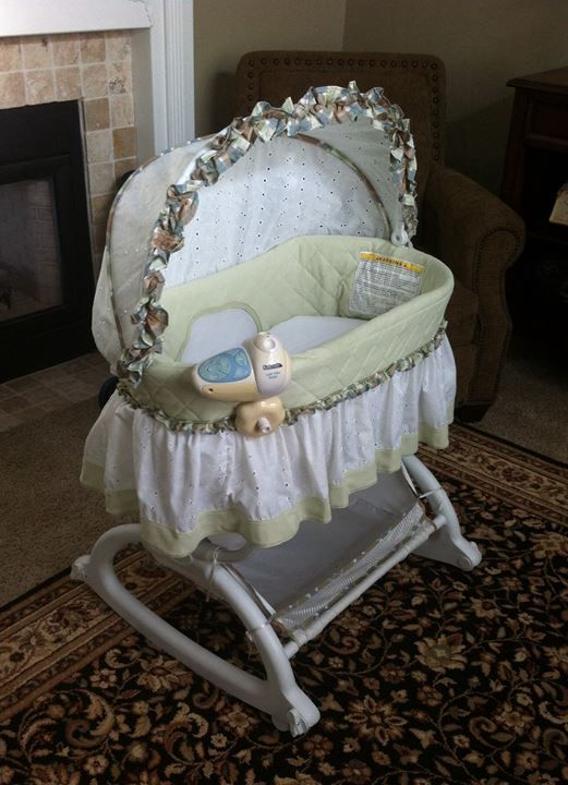 Baby Bassinet - $40.00