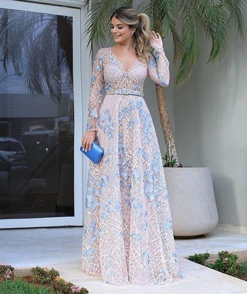 Os Mais Curtidos Da Semana 22 Vestidos Gala Vestido