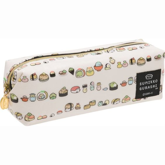 Amazon.com : San-x Sumikko Gurashi Pen Pouch Sushi Series : Office Products