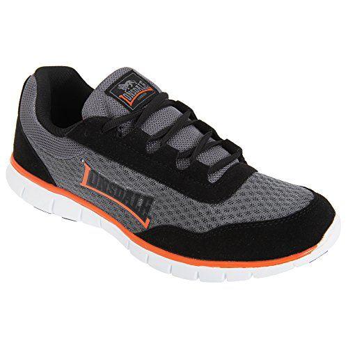 Lonsdale Herren Southwick Sneakers (45 EU) (Grau/Schwarz/Orange) - http://on-line-kaufen.de/lonsdale/45-eu-lonsdale-southwick-m-herren-sneaker-low-tops-2