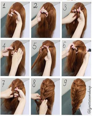 Hairstyles With Easy Step By Step Braids And Stylish Tumblr Easy Hairstyles Braided Hairstyles Easy Braids Step By Step