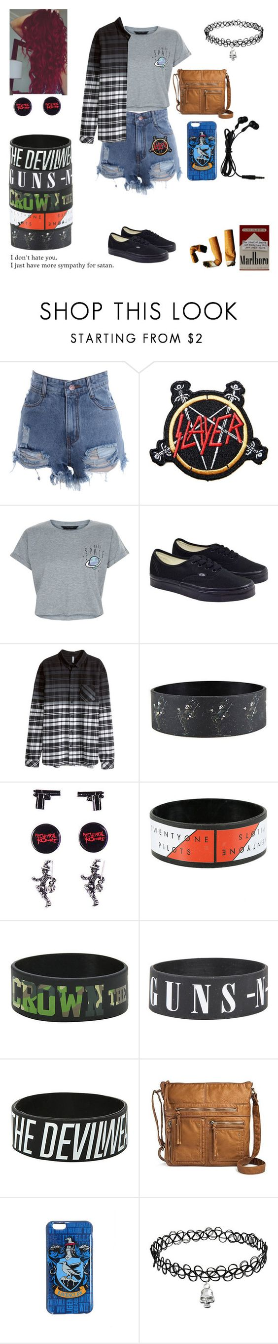 """""""Untitled #383"""" by threedaystoremember ❤ liked on Polyvore featuring New Look, Vans, H&M, CO, Prada and Bueno"""