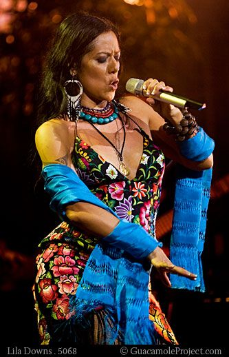 The gorgeous Lila Downs, Amazing singer. Dream come true if she were to sing at my wedding.
