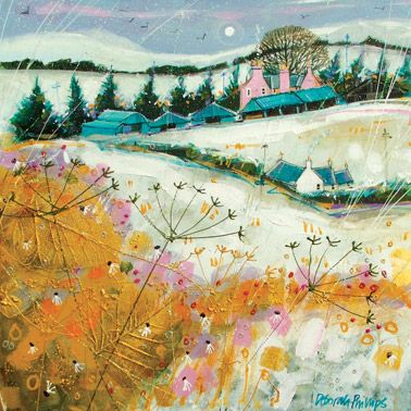 'Snow at Hatton Castle Farm' ~ Deborah Phillips