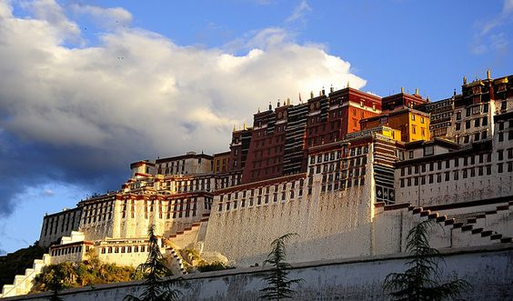 "Tse Podrang ""Summit Palace"" is another name for the Potala Palace, Tibet by reurinkjan, via Flickr"