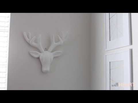Simple Faux Taxidermy (video) - withHEART