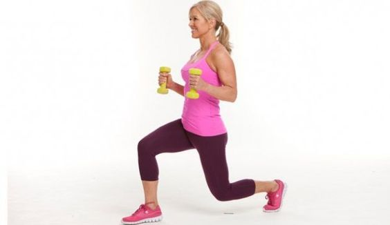 lunges girls