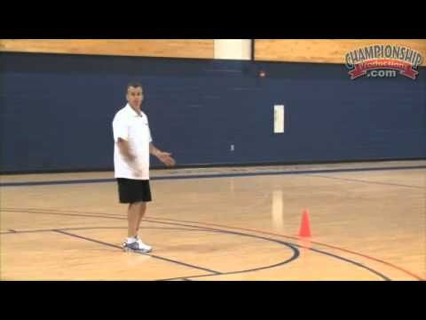 """""""Get by Your Defender with a Dribbling Workout from Billy Donovan!""""  In honor of being only the 2nd D1 NCAA coach to win 500 games before age 50, congrats (the other coach was Bobby Knight)."""
