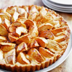Apple Kuchen   MyRecipes.com