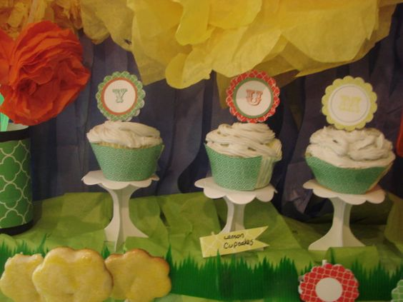 Party Printables Party Decorations Dessert Table Tents and Labels. $2.00, via Etsy.
