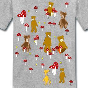 Kinder-Wald-Bären T- Shirt | Idee09