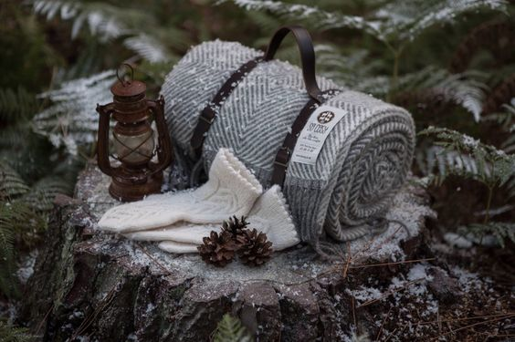 So Cosy throw & hand knitted gloves. #winter #cosy #throw #warm #christmas #handknitted #perfectwinter www.socosy.co.uk