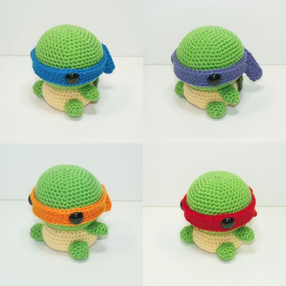 Amigurumi Tartarughe Ninja : Teenage Mutant Ninja Turtles Amigurumi - Created by Johnny ...