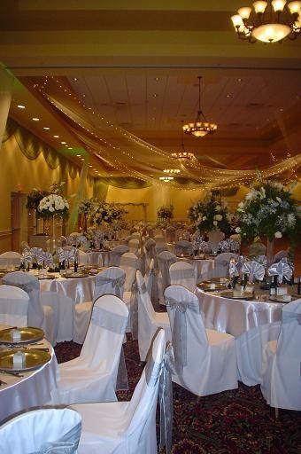 White and Silver Reception, Lake Receptions