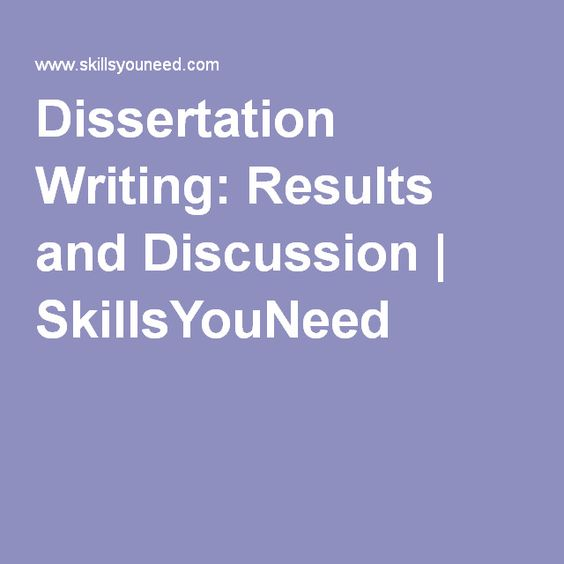 writing up thesis results Writing the discussion  the discussion section is a framing section, like the introduction, which returns to the significance argument set up in your introduction.