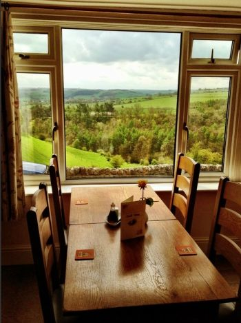 #Dinner at Lathkil Hotel, Over Haddon, Bakewell, Derbyshire.