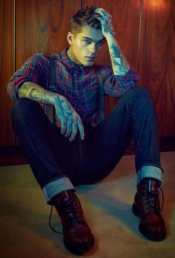 Stephen James with Elite Models in Barcelona becomes the new face of William Rast posing for the masterfully shot imagery by photographer Max Abadian at Atelier Management.  Styling for the denim label's latest images is courtesy of Oliva Le Blanc. William Rast was founded by Justin Timberlake.