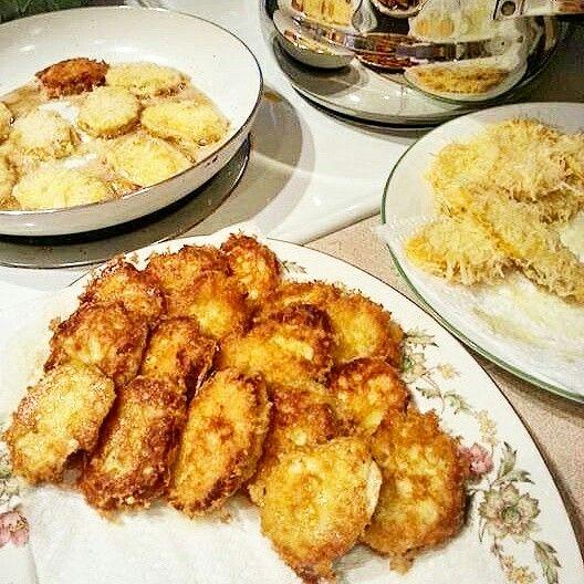 Crispy Parmesan Zucchini/Squash Fritters *Banting/Tim Noakes/Paleo/HFLC/GlutenFree