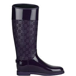 Gucci Women's Purple Flat Rain Boots by Gucci | Flats, Purple ...