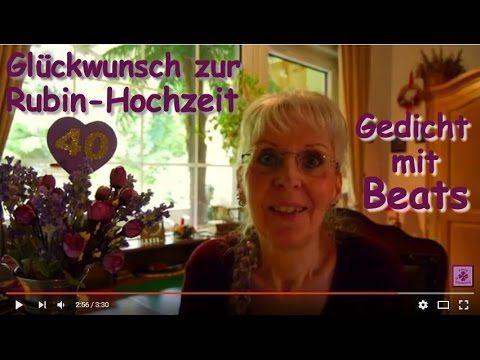 Fg167 Herzlichen Gluckwunsch Zum 40 Hochzeitstag Gedicht Zur Rubin Hochzeit In 2020 Gluckwunsche Zum 40 Gedichte Zur Hochzeit Rubinhochzeit Spruche