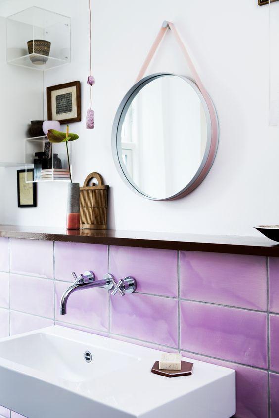 oversized glazed tiles handmade by Made a Mano